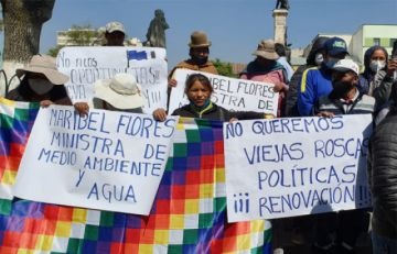 Bases del MAS-El Alto e indígenas del oriente piden espacios en el Gabinete
