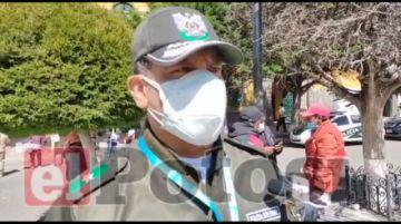 Reportan choque de moto y volqueta en Vitichi