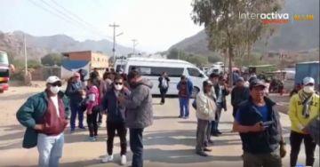 Padres de familia en Tupiza inician bloqueo de 72 horas