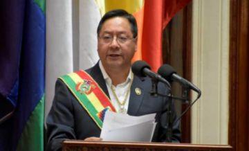 Confirman presencia de Luis Arce en los actos cívicos de Potosí