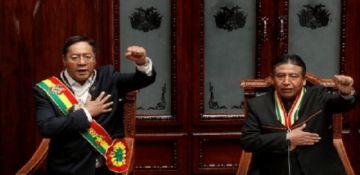 Vea el resumen de la posesión de Luis Arce como presidente de Bolivia