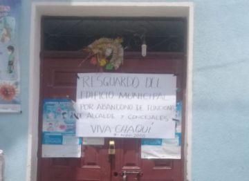 Alcaldía de Chaquí quedó sin autoridades y los ayllus le pusieron candado