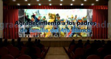 Estudiantes de primaria del Franciscano cuentan la revolución de Potosí