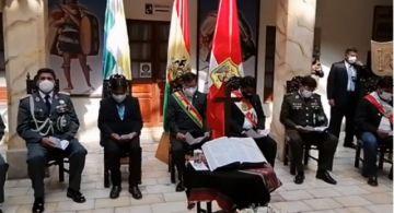 Se desarrolla la ceremonia interreligiosa en la Gobernación