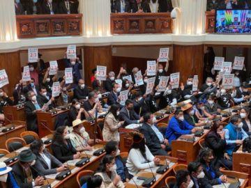 CC interpondrá en Sucre recurso contra las resoluciones del Legislativo por los dos tercios