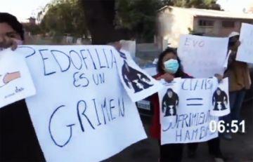 Vigilia rechaza llegada de Evo Morales y pide justicia