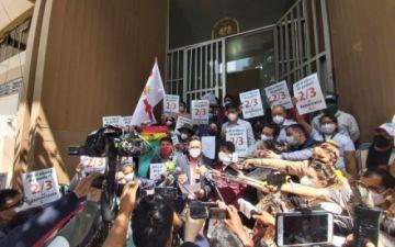 Comunidad Ciudadana pide al TCP anular las resoluciones sobre los dos tercios