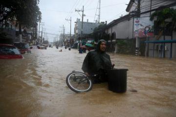 Reportan inundaciones en Filipinas tras el paso del tifón Vamco