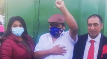 Salió de la cárcel Faustino Yucra, a quien Evo Morales habría instruido cercar ciudades