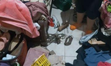 Santa Cruz: Madre e hija son atadas en robo a mano armada
