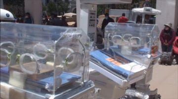 Alcaldía entrega equipamiento médico para los hospitales