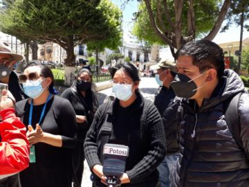 Familiares no descartan nuevas acciones ante la no identificación de difuntos covid