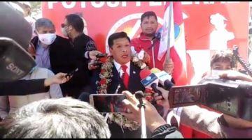 Rumbo a las elecciones 2021, Richard Alejo se presenta como candidato a la Alcaldía