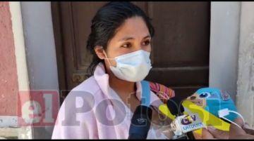 Madre denuncia supuesta mala atención de médico del Centro de Salud Potosí