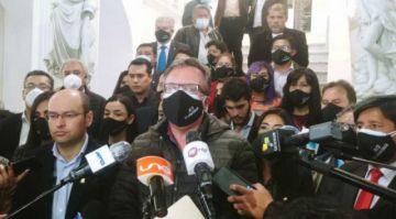 """CC y Creemos denuncian que el MAS vuelve a imponer """"rodillo"""" con resolución """"ideologizada"""""""