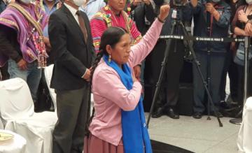 "Representante de ""Bartolinas"" asume como Ministra de Culturas"