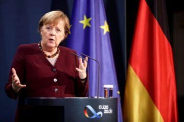 """Merkel, """"preocupada"""" por el acceso a las vacunas del covid-19 pese a las promesas del G20"""