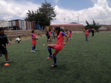 Fútbol femenino retoma entrenamientos en Potosí