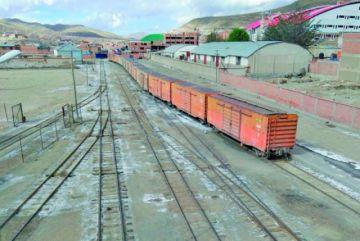 Esto es lo que dice Ferroviaria Andina sobre la carga de minerales en la Estación Central