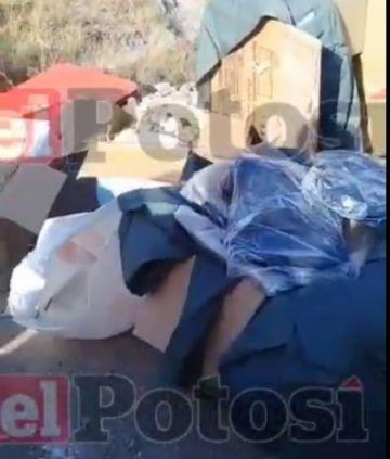 Video: Castigan a presuntos ladrones en la zona Villa Mecánicos