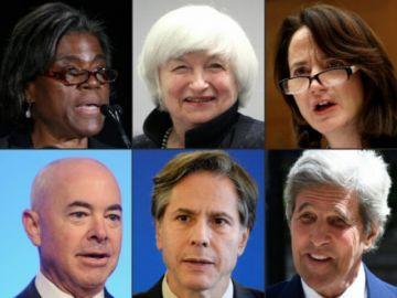 El gabinete de Biden cuenta con varios rostros de la era Obama, pero es más diverso