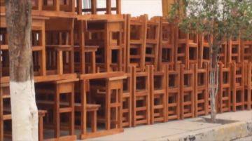 Entregan mobiliario para unidades educativas