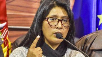 Eva Copa dice que proseguirá con proceso contra el actual ministro de Gobierno
