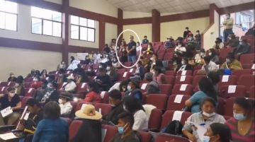 Gritos interrumpen a Casimira Lema cuando pedía justicia ante el Grupo de Expertos de la CIDH