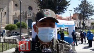 Realizan control a ciudadanos extranjeros en Potosí