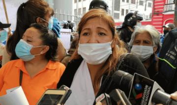 La Paz: Protesta de madres de familia denuncia exclusión de Bono Contra el Hambre