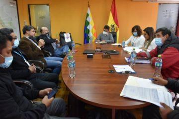 Ministro de Minería gestiona reanudación de la construcción de la Planta Concentradora de Colquiri