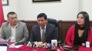 Presentan denuncia para inicio de juicio de responsabilidades contra consejeros de la Magistratura
