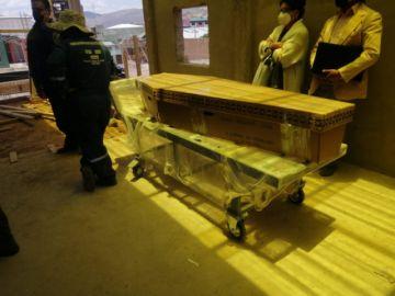 Ayer se procedió con la primera prueba en el nuevo horno crematorio