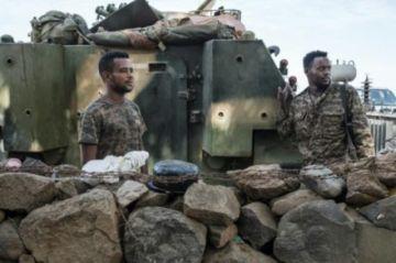 Ofensiva del ejército de Etiopía contra la capital de la región de Tigré
