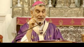 """Monseñor Gualberti: """"Practicar la justicia, se ha vuelto clamor en nuestro país"""""""