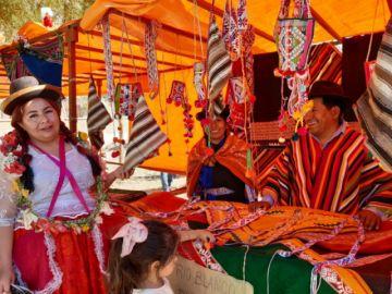 Se realizó la Primera Feria Artesanal de Costumbres Chicheñas  (video y galería de fotos)
