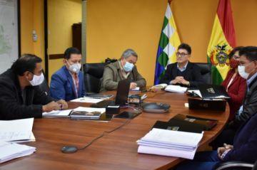 Gabinete Interno de Minería coordina acciones para el sector