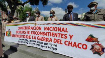 Piden a la Asamblea aprobar reconocimiento para los últimos siete beneméritos del Chaco con vida