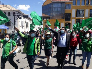 Demócratas confirman a Gonzalo Barrientos como candidato a la Alcaldía de Potosí