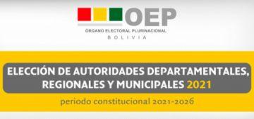 El TSE emite el reglamento de registro de alianzas políticas para las elecciones de marzo de 2021