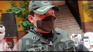 Entregan 15 cámaras de seguridad para los barrios en Potosí