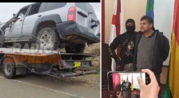 Delincuentes atracan la Alcaldía de Padilla, hieren a policía en balacera y sufren accidente en su huida