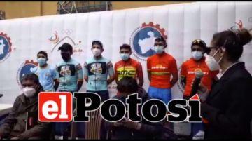 Estos son los ciclistas que participan en la IV Vuelta Ciclística Potosí 2020