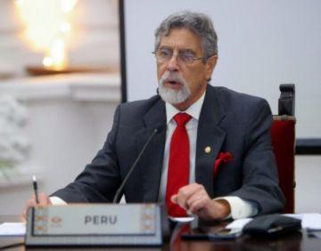 Perú vive su momento más crítico en últimos 100 años, asegura presidente