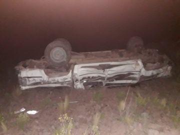 Embarrancamiento en Tinguipaya deja seis heridos