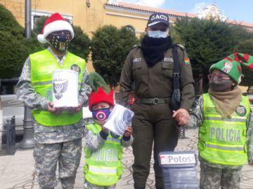 Gacip emprende campaña navideña en Potosí