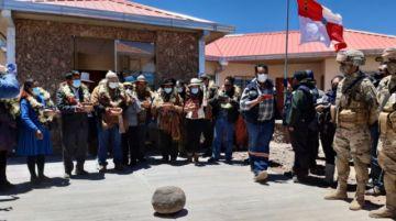 Gobernación entrega puesto fronterizo en Hito Cajones