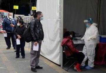 México alcanza nuevo máximo de contagios de covid-19