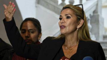 """Áñez pide audiencia a la CIDH para presentar """"pruebas que el actual gobierno quiere ocultar"""""""