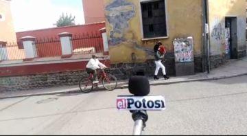 Potosí ya vive el Día del Peatón en el municipio